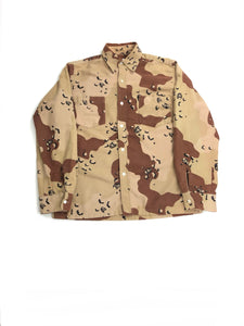 NEEDLES x NUMBER (N)INE CAMO SHIRT- SIZE 1