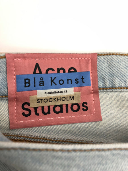 Acne Studios Blå Konst Max Stay Light Blue Denim
