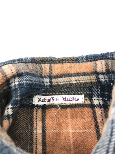 Needles Rebuild Plaid Flannel