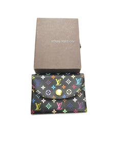 Louis Vuitton Takashi Murakami Monogram Card Holder Wallet