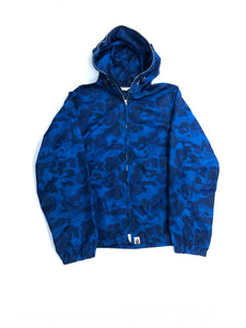 BAPE BLUE FLAME JACKET- SIZE M