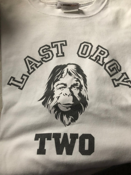 BAPE X UNDERCOVER 'THE LAST ORGY' TEE- SIZE L