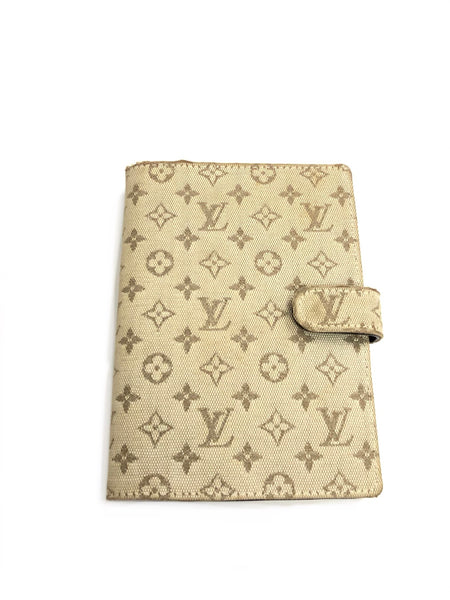 LOUIS VUITTON AGENDA NOTEBOOK