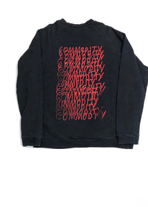 RAF SIMONS SS2003 CONSUMED SWEATSHIRT- SIZE 48