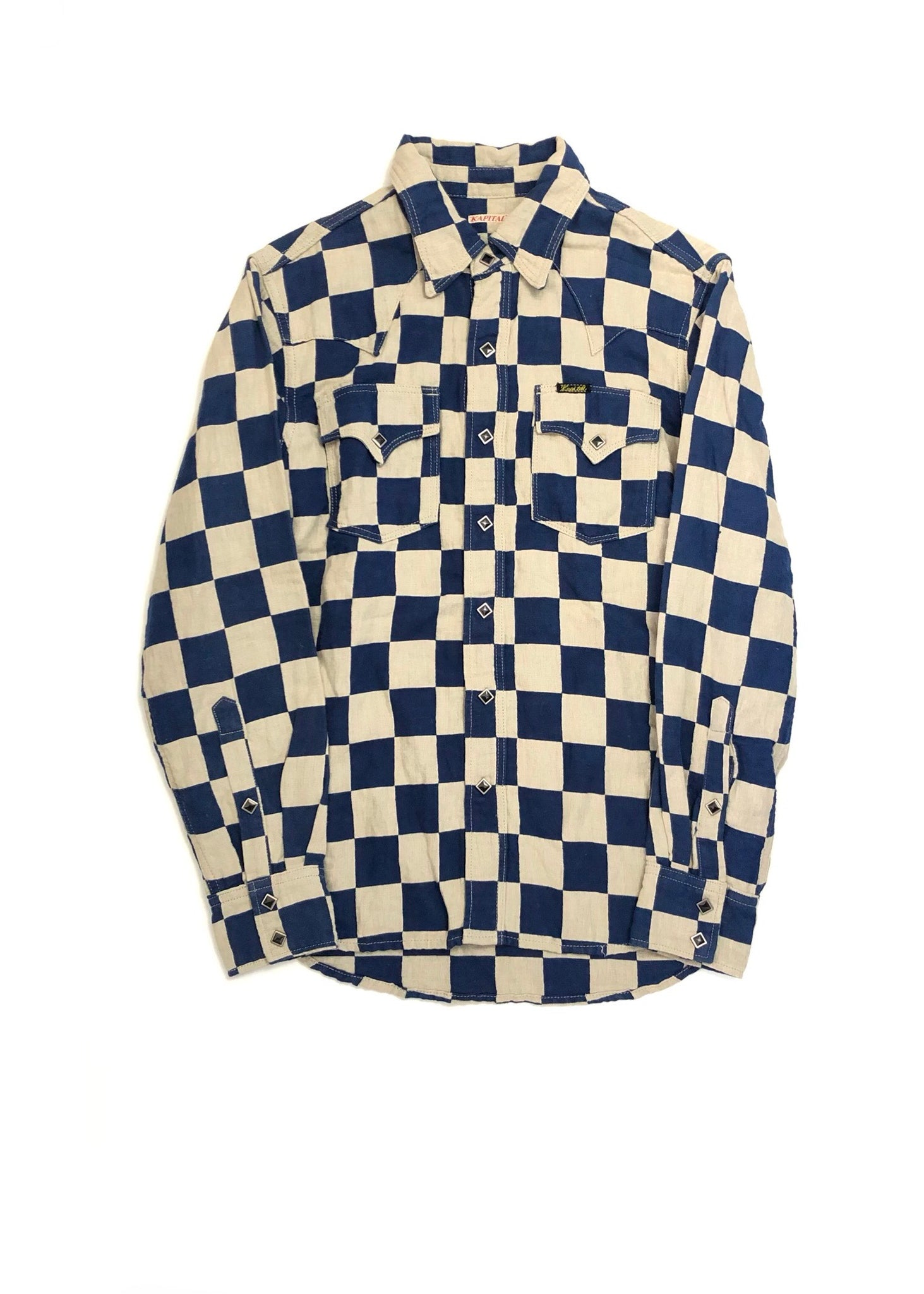 KAPITAL CHECKERED SHIRT- SIZE 2