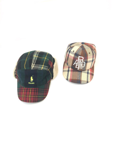 "A Bathing Ape Spring 09 ""Plaid"" New Era Fitted Cap"
