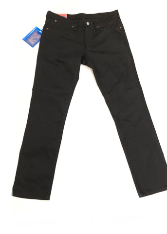 Acne Studios Blå Konst Max Stay Black Denim- Size 33