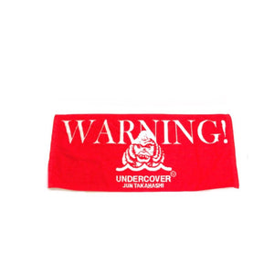 Undercover Warning Terry Towel