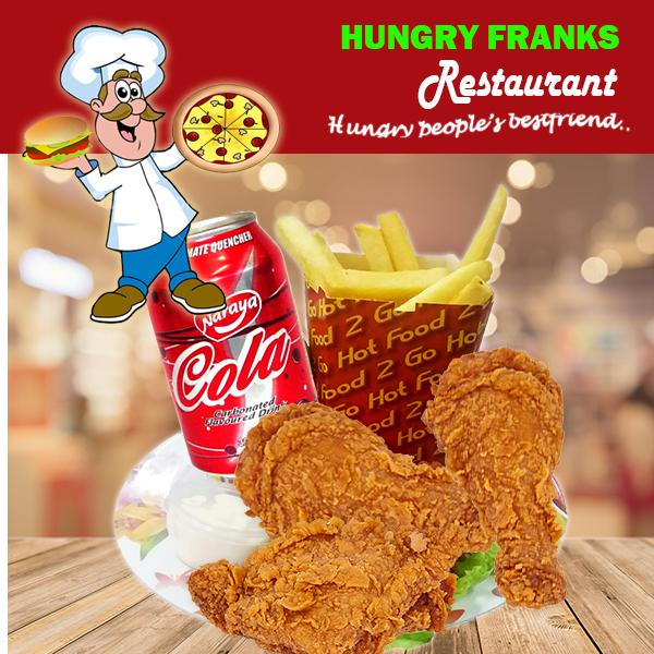 "3 Chicken n Chips Combo ""PICKUP FROM HUNGRY FRANKS, UPOLU ONLY"" Hungry Franks"