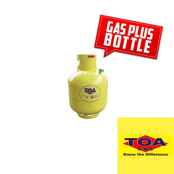 Toa Gas 4.5Kg BOTTLE + Refill - Swap any same size Gas Bottle at Selected Locations UPOLU MA SAVAII Toa Gas