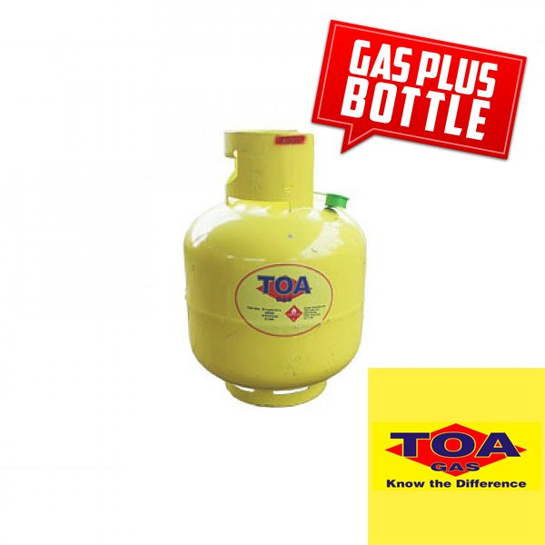 Toa Gas 9Kg BOTTLE + Refill - Swap any same size Gas bottle at Selected Village Locations Toa Gas