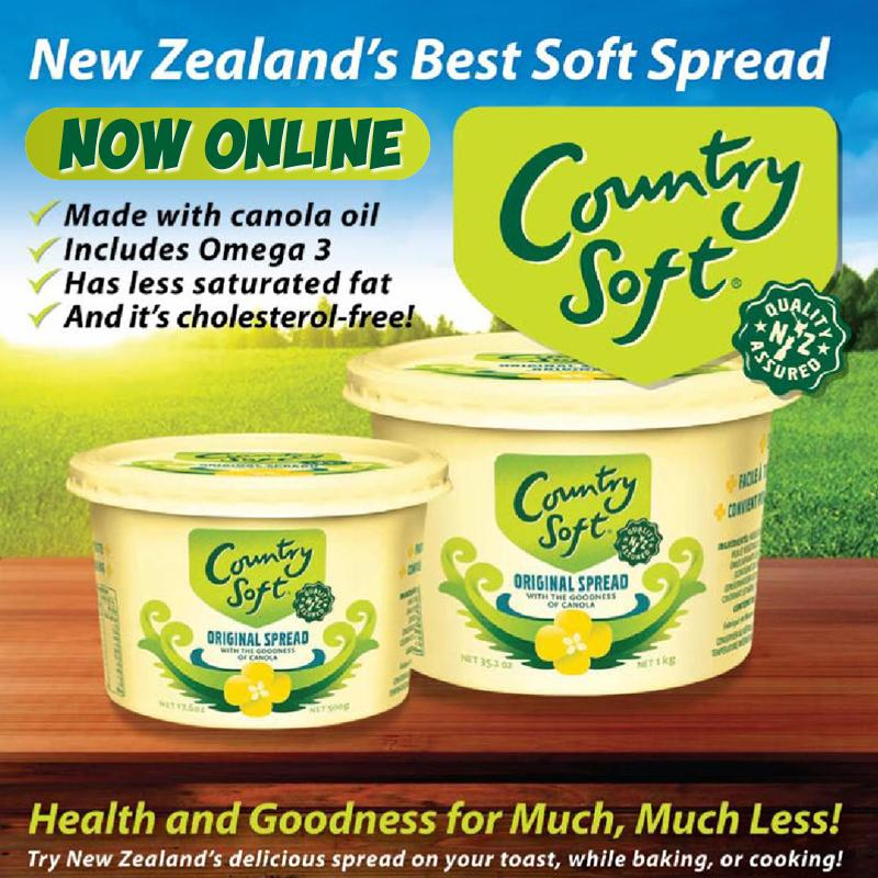 "Anchor Country Soft Spread 1kg 3 Pack ""PICKUP FROM AH LIKI WHOLESALE"" Ah Liki Wholesale"