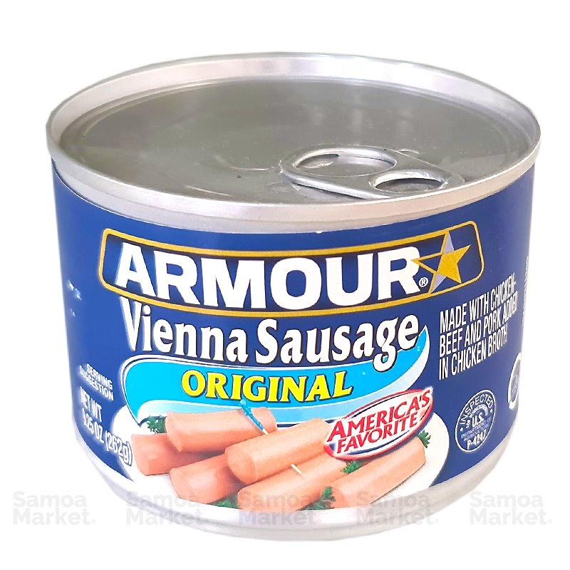 "Armour Vienna Sausage 9.25oz ""PICKUP FROM FARMER JOE SUPERMARKET UPOLU ONLY"" Farmer Joe Supermarket"