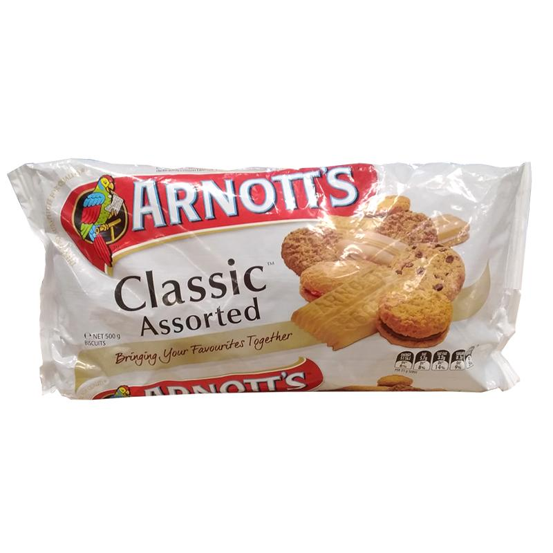 "Arnotts Classic Assorted 500g ""PICKUP FROM FARMER JOE SUPERMARKET UPOLU ONLY"" Breakfast Farmer Joe Supermarket"