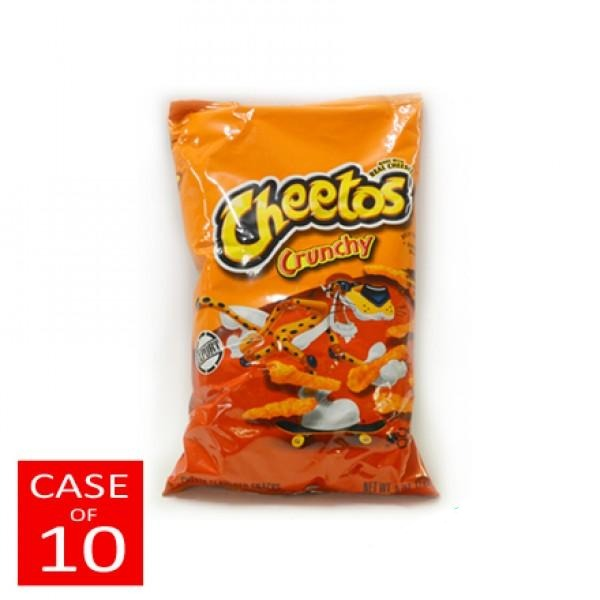 "Cheetos Crunchy Cheese 10x8oz ""PICKUP FROM AH LIKI WHOLESALE"" (1557074313252)"