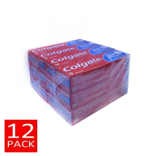 Colgate Regular Toothpaste 12x140g (95mls)