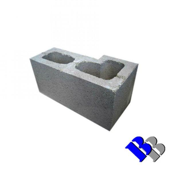 "Concrete Block Brick Piliki 6"" Inch Corner - HIGH DEMAND, MAY HAVE TO WAIT FOR PRODUCTION Concrete Blocks Bluebird Lumber"