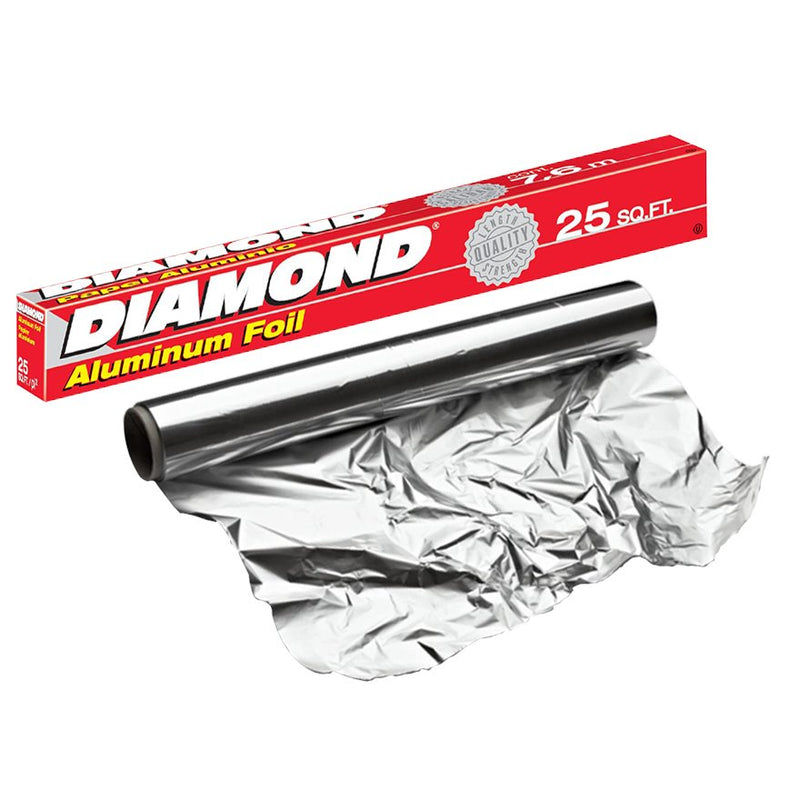 "Diamond Aluminium Foil 6x25sqft (7.5m) ""PICKUP FROM AH LIKI WHOLESALE"" Kitchen Supplies Ah Liki Wholesale"