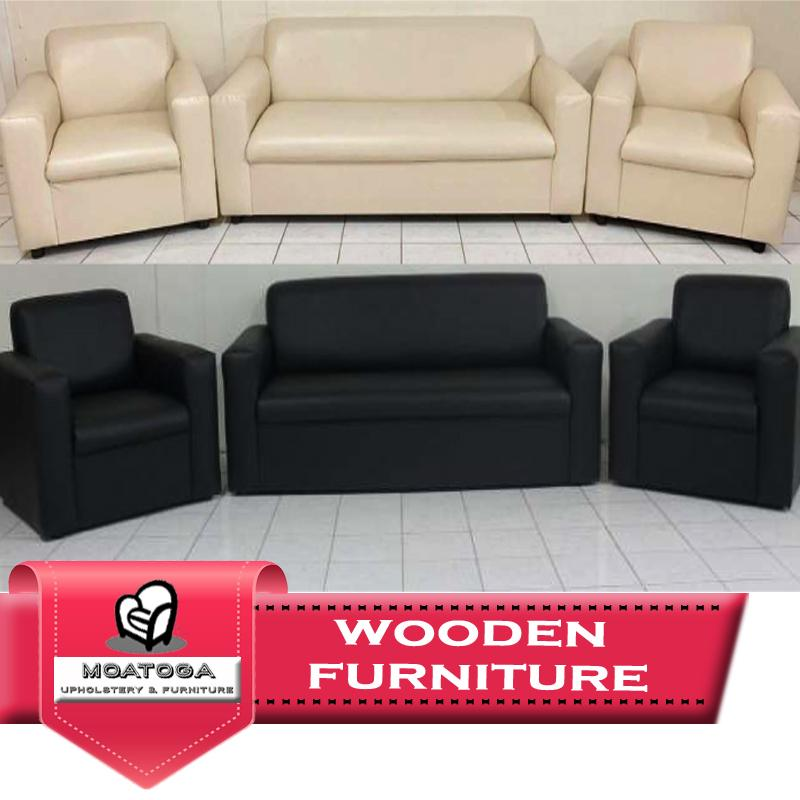 "Full Leather Lounge Set ""PICKUP FROM MOATOGA AT FUGALEI, UPOLU & SALELOLOGA, SAVAII"" Furniture Moatoga Upholstery & Furniture"