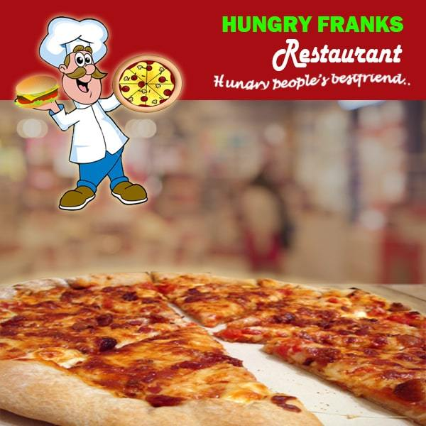 "Bacon Pizza - Large ""PICKUP FROM HUNGRY FRANKS, UPOLU ONLY"" Hungry Franks"