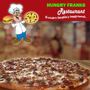 "BBQ Chicken Pizza - Large ""PICKUP FROM HUNGRY FRANKS, UPOLU ONLY"" Hungry Franks"