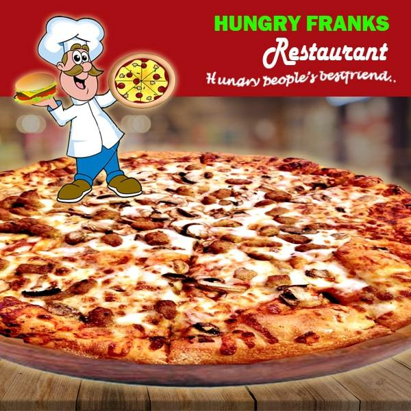 "Chicken Supreme Pizza - Large ""PICKUP FROM HUNGRY FRANKS, UPOLU ONLY"" Hungry Franks"