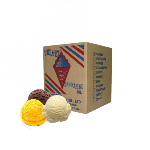 "20L Ice Cream - Assorted Flavours ""PICKUP FROM APIA BOTTLING UPOLU ONLY"" Apia Bottling Co Ltd"