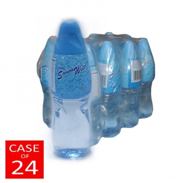 Natural Samoa Water 24x500ml