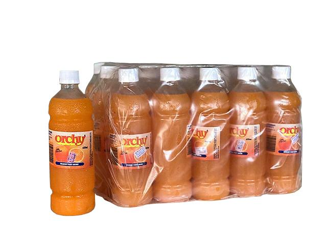 "Orchy Juice 600MLS x 20 ""PICKUP FROM APIA BOTTLING UPOLU ONLY"" Apia Bottling Co Ltd"