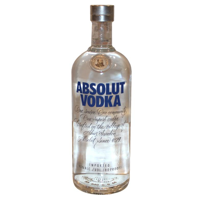 "Original Absolute Vodka 1ltr 40% ""PICKUP FROM FARMER JOE SUPERMARKET UPOLU ONLY"" Farmer Joe Supermarket"
