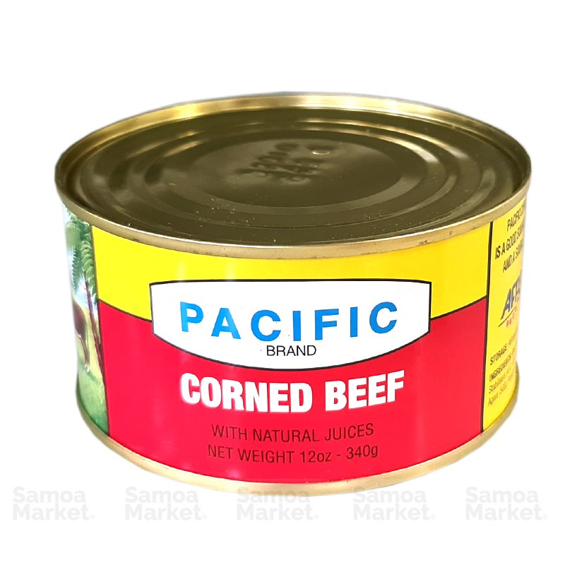 "Pacific Corned Beef 340g ""PICKUP FROM FARMER JOE SUPERMARKET UPOLU ONLY"" Farmer Joe Supermarket"