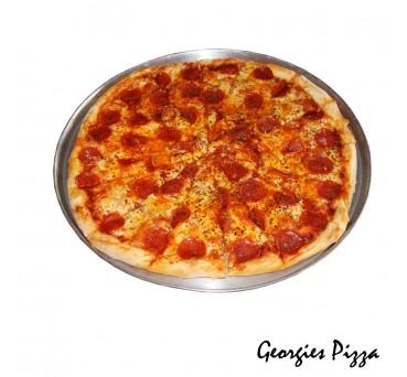 "Large BBQ Chicken Pizza ""PICKUP FROM GEORGIES PIZZA TAUFUSI"" Georgies Pizza"