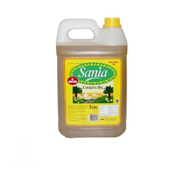 "Sania Cooking Oil 5 Litre (Replace with Golden Foods 5L if unavailable) - FARMER JOE UPOLU ONLY ""PICKUP FROM FARMER JOE SUPERMARKET UPOLU ONLY"" Farmer Joe Supermarket"