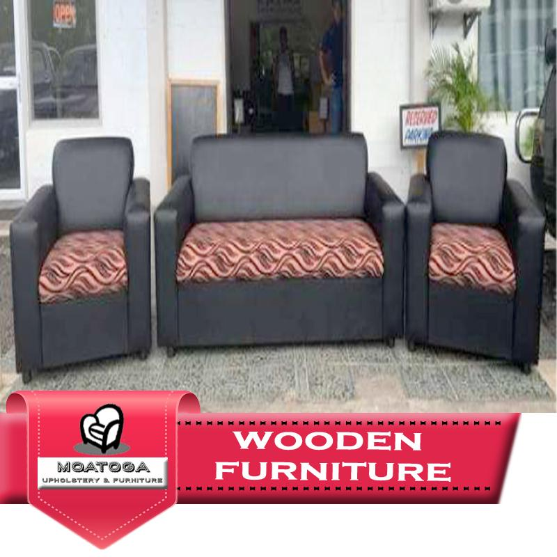 "Two-Tone Lounge Set ""PICKUP FROM MOATOGA AT FUGALEI, UPOLU & SALELOLOGA, SAVAII"" Furniture Moatoga Upholstery & Furniture"