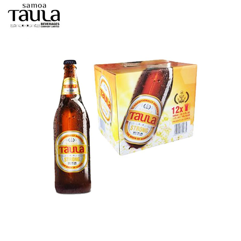 "Case of Taula Strong Large 7% ""PICKUP FROM AH LIKI WHOLESALE"" Ah Liki Wholesale"