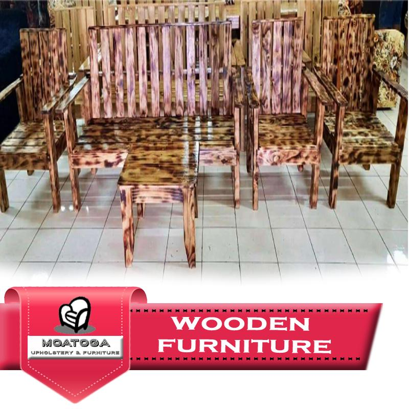 "Wooden living set no cushions ""PICKUP FROM MOATOGA AT FUGALEI, UPOLU & SALELOLOGA, SAVAII"" Furniture Moatoga Upholstery & Furniture"