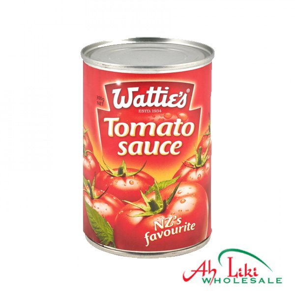 "Watties Tomato Sauce Refill Full Case of 24x300g ""PICKUP FROM AH LIKI WHOLESALE"" Ah Liki Wholesale"