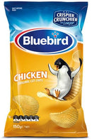 "Bluebird Potato Chips Chicken - Case Of 12x150g ""PICKUP FROM AH LIKI WHOLESALE"" Ah Liki Wholesale"