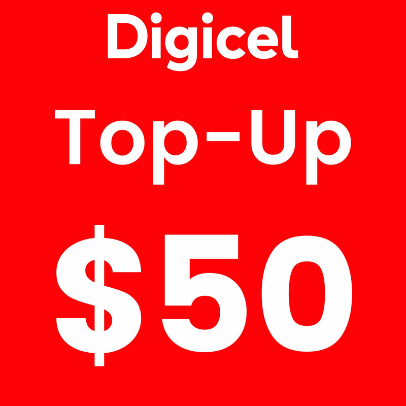 Digicel Topup $50Tala  (Supplied by Samoamarket.com during Working Hours) (4615300251684)