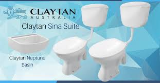 Toilet Set Complete Claytan Sina Building Materials Bluebird Lumber