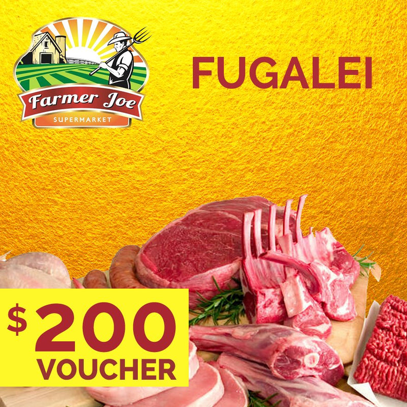 "Farmer Joe Fugalei - WS$200 ""PICKUP FROM FARMER JOE SUPERMARKET UPOLU ONLY"" Farmer Joe Supermarket"