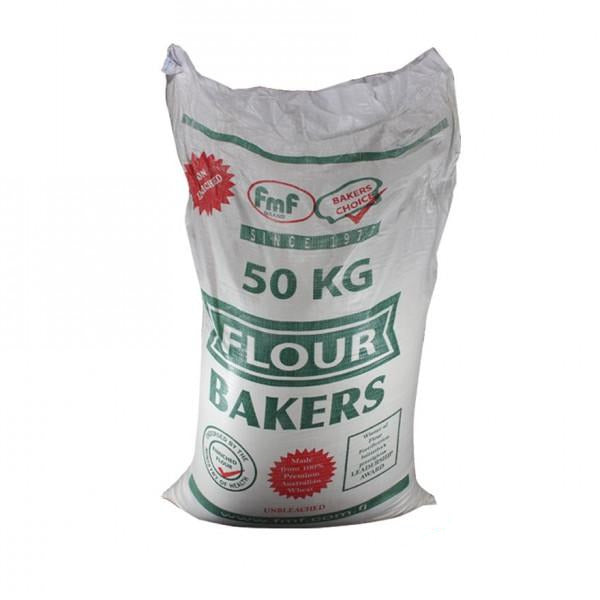 "FMF Bakers Flour 50Kg - MAY NOT BE AVAILABLE ""PICKUP FROM AH LIKI WHOLESALE"" Ah Liki Wholesale"