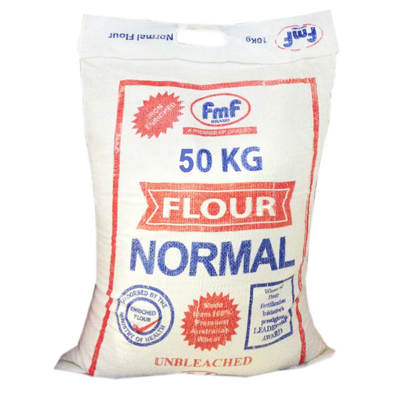 "FMF Normal Flour 50Kg ""PICKUP FROM AH LIKI WHOLESALE"" Ah Liki Wholesale"