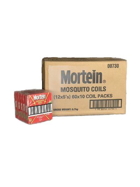 "Mortein Mosquito Coils 10x120g ""PICKUP FROM AH LIKI WHOLESALE"" Ah Liki Wholesale"