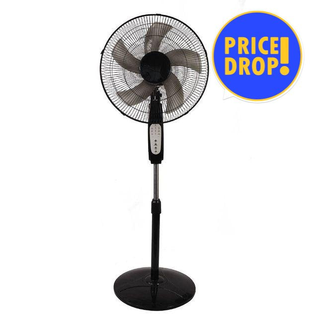"FAN WITH TIMER 40CM BLACK L&C - Substitute if sold out ""PICKUP FROM BLUEBIRD LUMBER & HARDWARE"" Bluebird Lumber"
