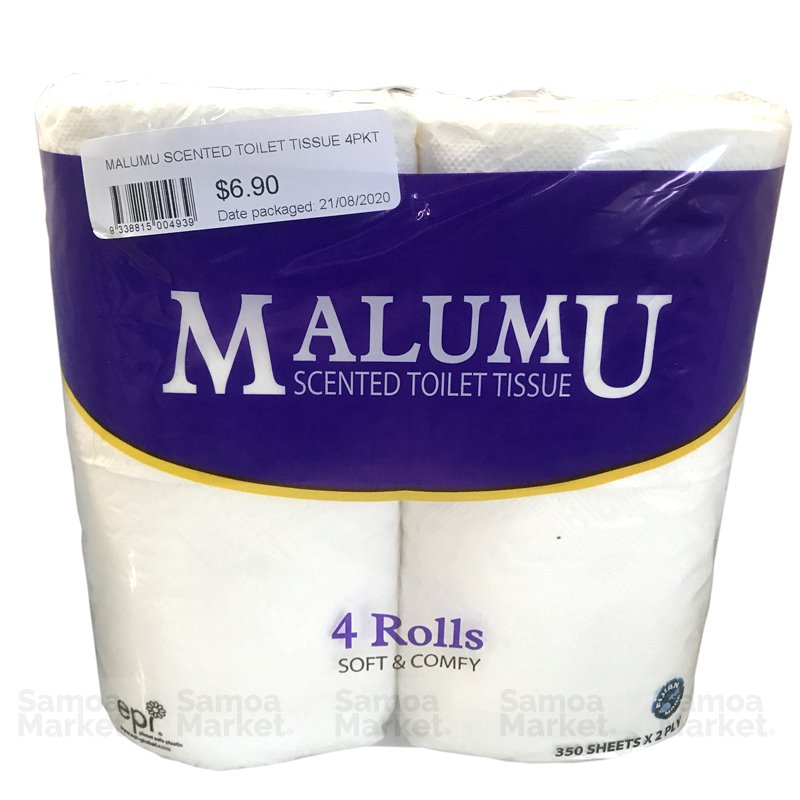 "Malumu Toilet Rolls (or similar) - ""PICKUP FROM FARMER JOE SUPERMARKET UPOLU ONLY"" Farmer Joe Supermarket"