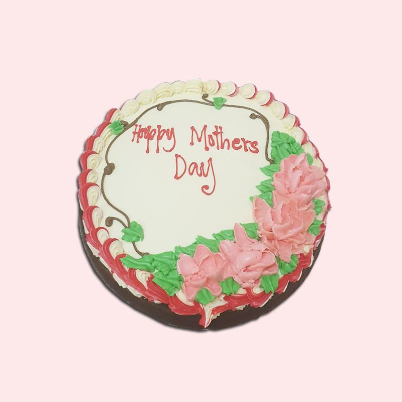 "Small 9"" Round Cake Top Only Decor from Terri's Cakes, Taufusi (24HRS NOTICE REQUIRED, PICKUP UPOLU ONLY) Terris Cakes, Taufusi"