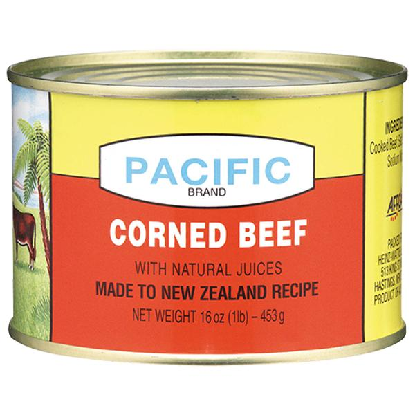 "Pacific Corned Beef 16oz 1LB 453g ""PICKUP FROM FARMER JOE SUPERMARKET UPOLU ONLY"" Farmer Joe Supermarket"