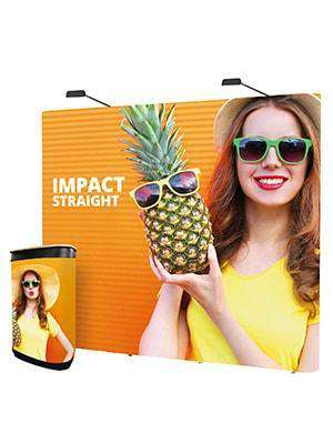 Pop Up Stand 3 x 3 Bundle | Straight