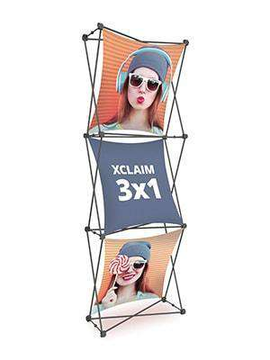 Exhibition Stand Fabric - Xclaim 3 x 1 | Xclaim